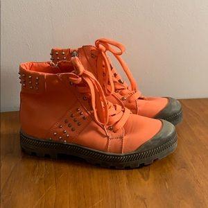 Unique Orange Wanted Boots